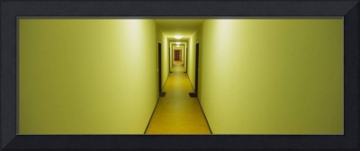 Empty corridor of a building