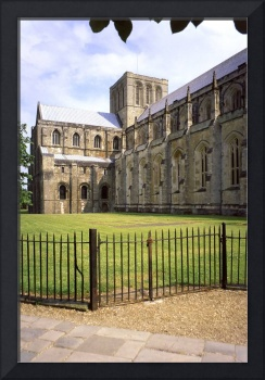 Winchester Cathedral from the South-West
