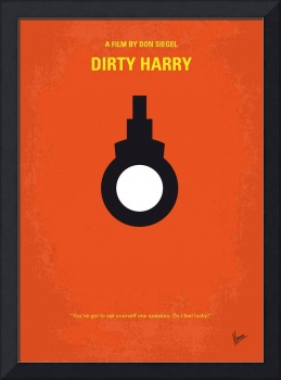 No105 My Dirty Harry movie poster
