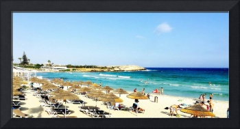 Fun on the Beach at Ayia Napa, Cyprus