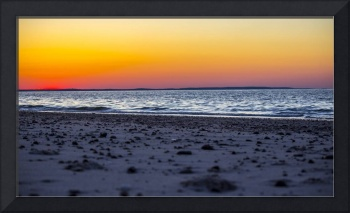 Sandy Neck Cape Cod Massachusetts sun set