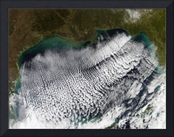 Cloud streets in the Gulf of Mexico