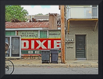 Dixie Beer Sign, New Orleans Juke Joint