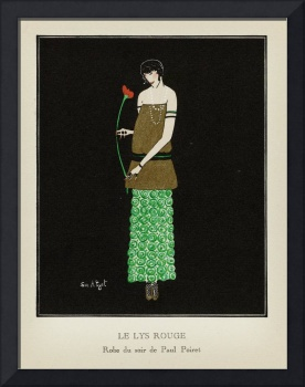 Fashion Poster 1900-1920s Series - 8