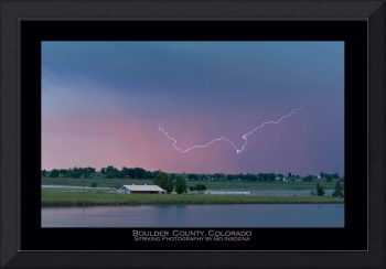 Boulder County - Lightning Photography Fine Art