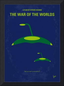 No118 My WAR OF THE WORLDS minimal movie poster