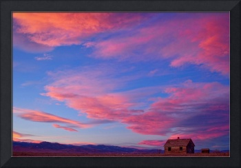Little House On Prairie with Big Colorful Colorado