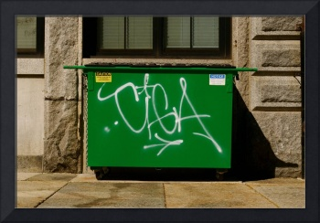 Dumpster Graffiti