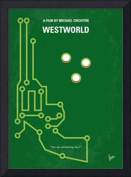 No231 My Westworld minimal movie poster