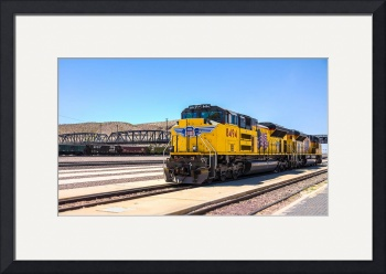 Union Pacific near Route 66 by D. Brent Walton
