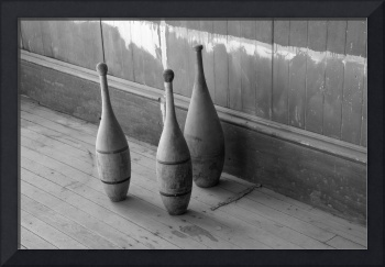 Old Bowling Pins, Ghost Town of Bodie