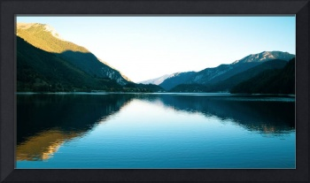 Lake Between Mountains Landscape photography