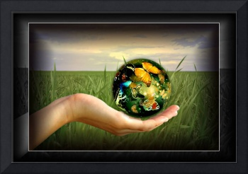 The world in the palm of your hands