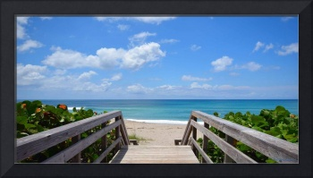 Seascape Juno Beach Boardwalk Florida B1
