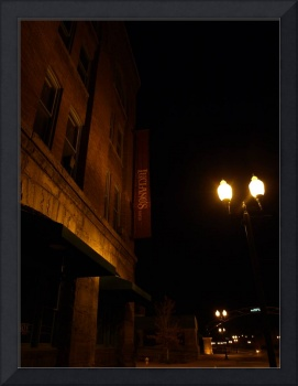 Olde Towne Lights and Building