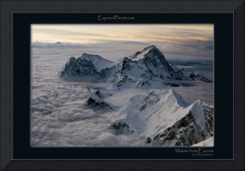 Makalu from 3rd Step on Everest