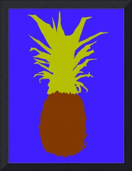 Pineapple brown blue mustard (c)