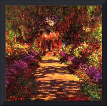 Path in Monets garden in Giverny