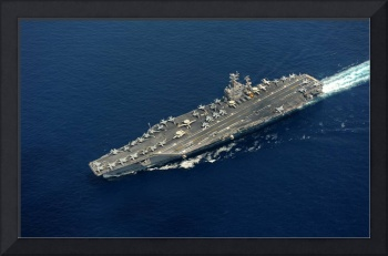 USS Abraham Lincoln transits the Indian Ocean 4