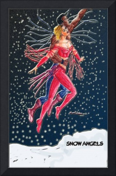 Snow Angels Holiday Card