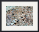 Colorful Granite by Jacque Alameddine