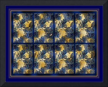 Blue Willow Panel 1