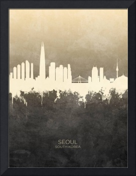 Seoul Skyline South Korea