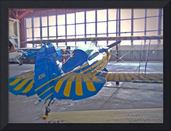 Pitts Special in the Hangar