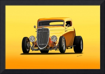1934 Ford 'Mango Madness' Coupe II