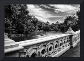 Bow Bridge Monochrome