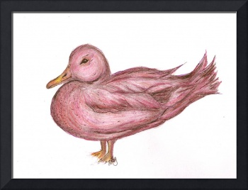 Thinking Pink Ducky