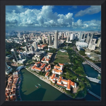 Singapore Central Business District – Aerial
