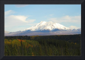 Alaskan Autumn Mountainscape 3