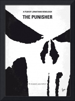 No676 My The Punisher minimal movie poster
