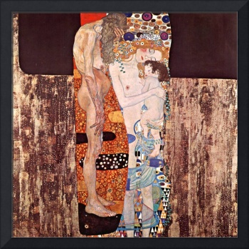 Gustav Klimt's The Three Ages of a Woman