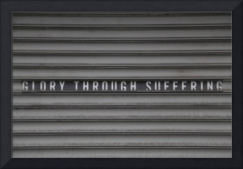 Glory through Suffering