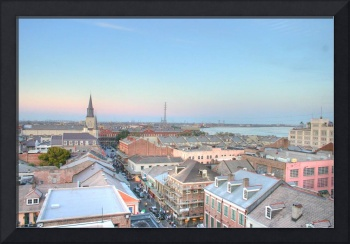 Rooftop french quarter HDR