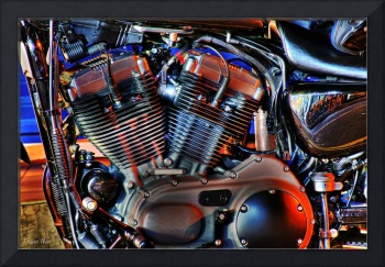 The Engine- Harley Davidson.