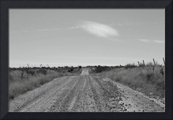 Old Texas Dirt Road