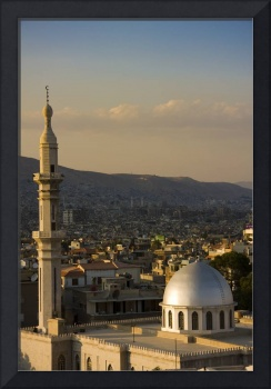 Mosque minaret in Syria