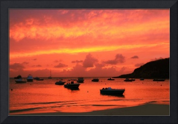 After Sunset at Sandy Ground Anguilla