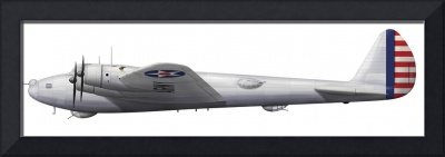 Experimental Boeing XB-15 bomber aircraft