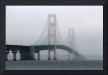 Mackinac Through The Fog