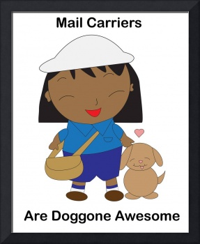 Mail Carriers Awesome Black Female