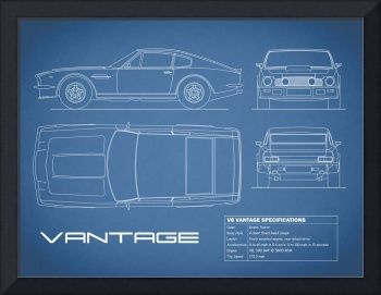 Aston V8 Vantage Blueprint