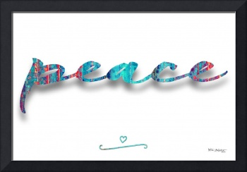 Peace. Inspirational Wall Art