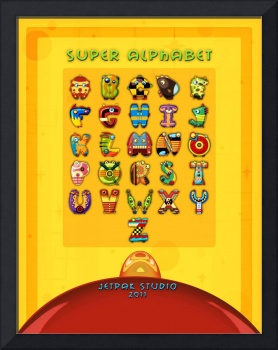 Super Alphabet (Back Cover)