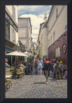 On the streets of Montmartre