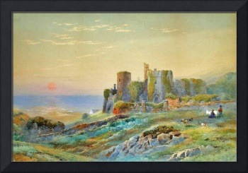 W. A. Franks - Manorbier Castle, South Wales