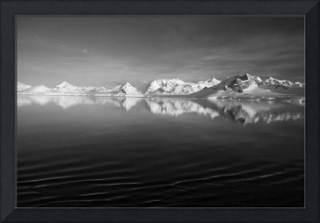 Sunset over the Neumayer Channel, Antarctica - 3